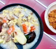 2021 10 21 163044 - 浦源生粥店│台中少見的筊白筍瘦肉粥,份量大且料多,粥的口感就是很家常的那種