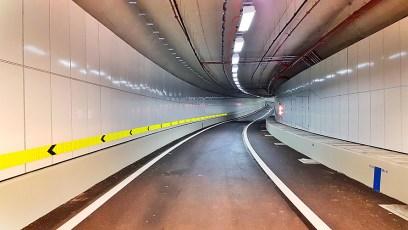 Vitreous Enamel Panels in Sentosa Gateway Tunnel, Singapore