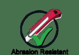 Enamel Panel is Abrasion Resistant