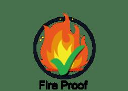 Enamel Panel is Fire Proof