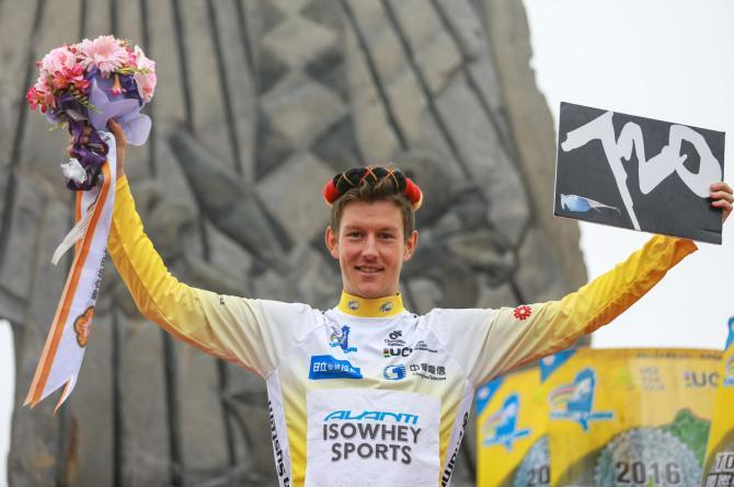 Australian cyclist Robbie Hucker wins the Tour de Taiwan 2016