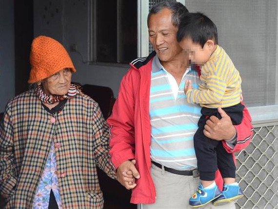 Tama Tamul and 93 year-old mother