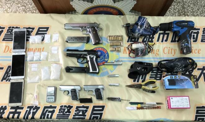 guns, drugs, and tools