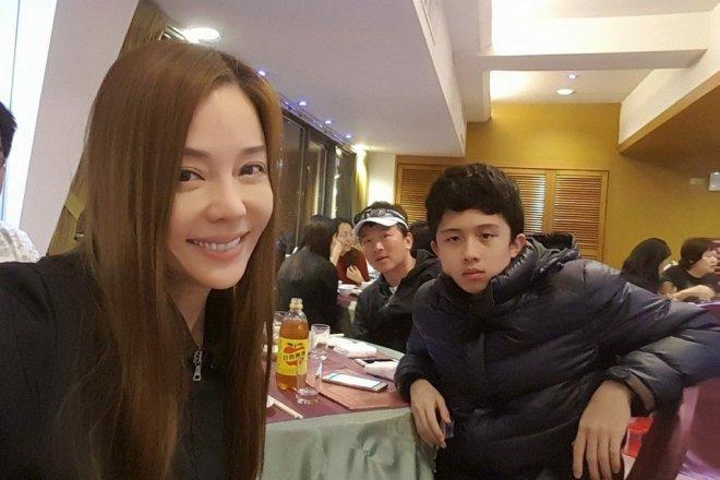 Di Ying and son Sun Tso An