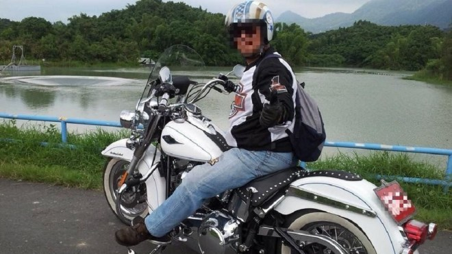 Liang, a motorcycle enthusiast