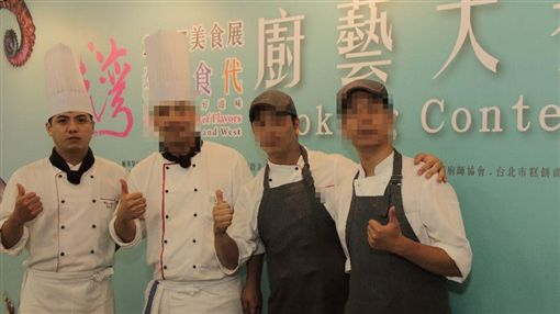 Chefs of Silk Road Feast restaurant at the Westin Taipei City