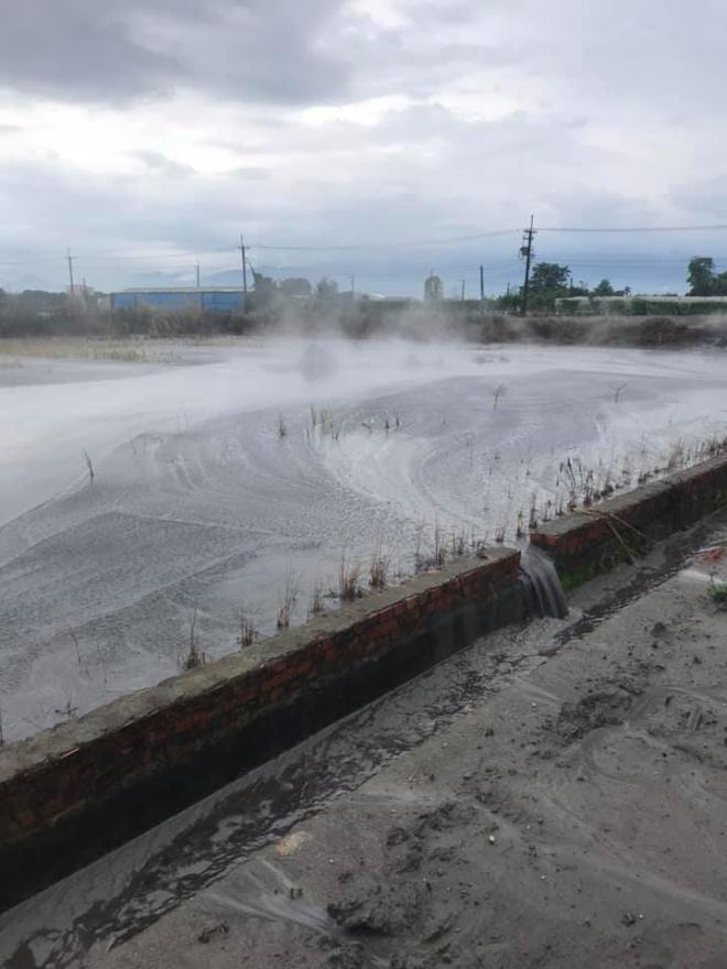 mud volcano in Pingtung County