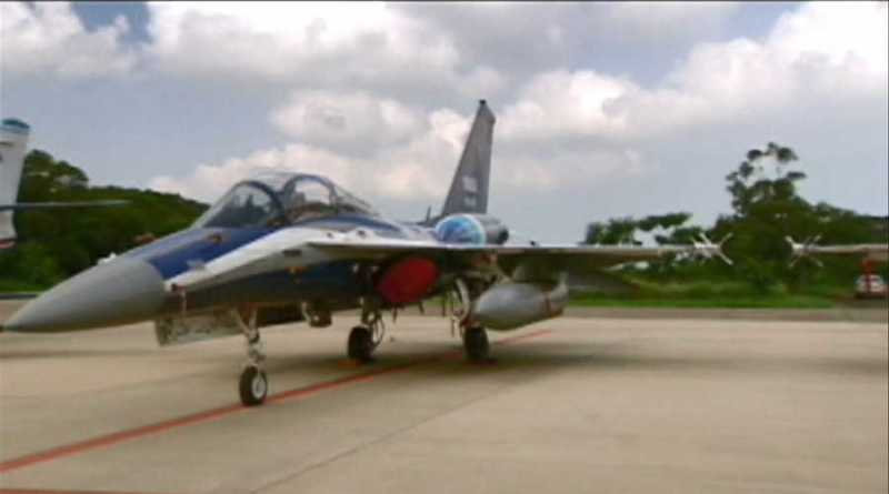 "advanced jet trainer ""Yung Yin (勇鷹)"""