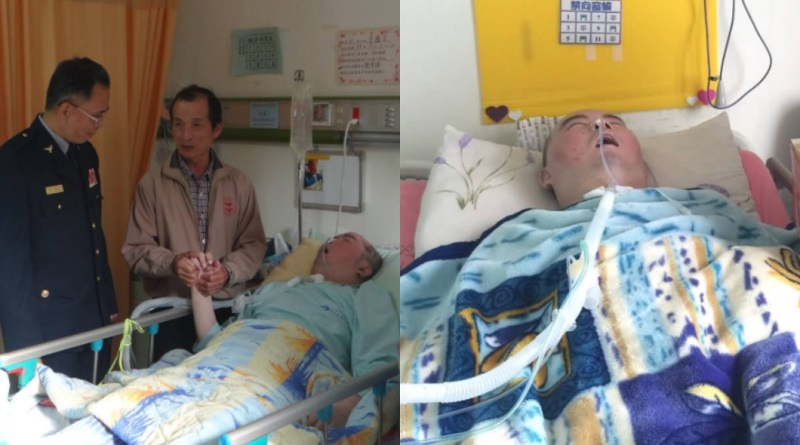 Police officer lays in a vegetative state 23 years after being shot