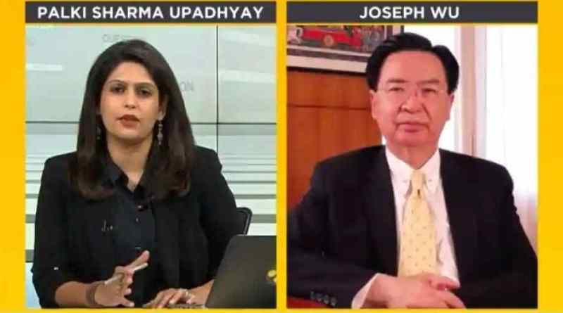 WION's Palki Sharma interviews Joseph Wu, Taiwan's Minister of Foreign Affairs