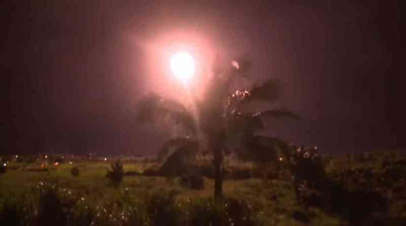 missile fired in Taitung County Taiwan, Christmas Day, 2020