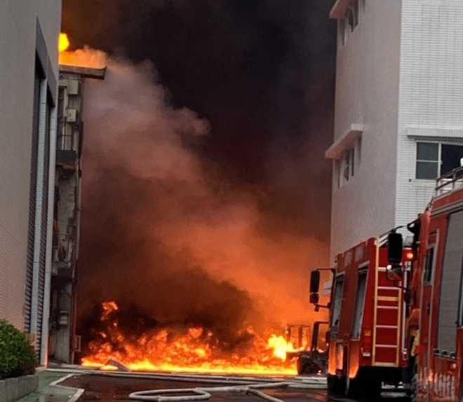 fire at SCI Pharmtech factory