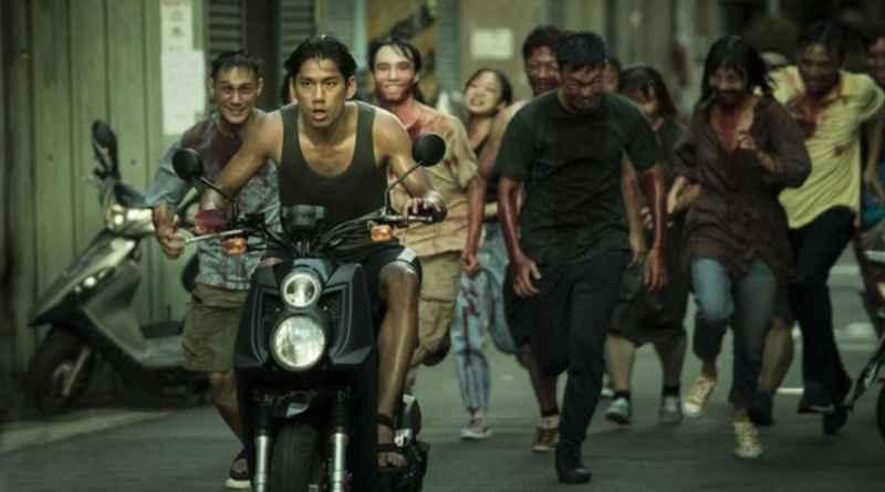 scene from Taiwan zombie film The Sadness
