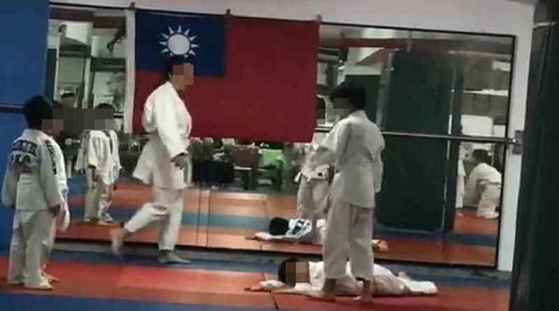 judo student unconscious after successive throws