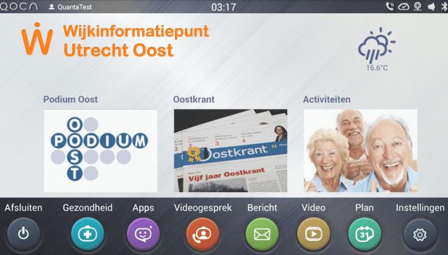 QOCA for Wijkinformatiepunt Utrecht Oost