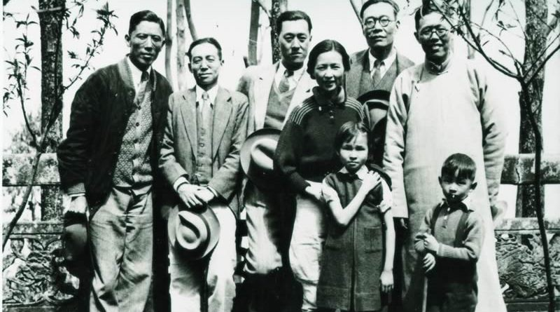 Liang_Sicheng,_Lin_Huiyin,_Zhou_Peiyuan_and_others