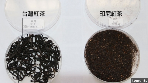 台灣紅茶與印尼紅茶