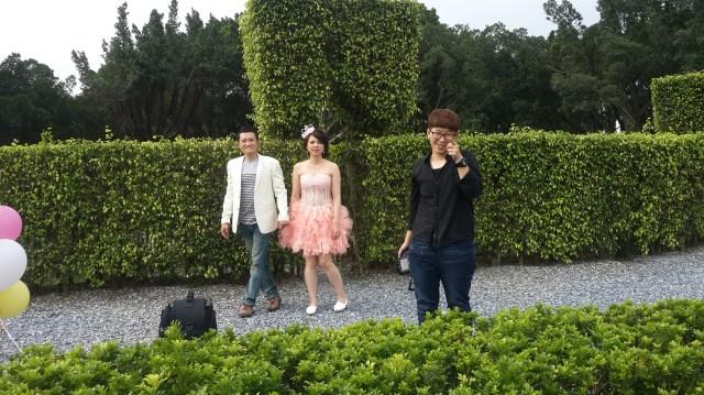 2014-06-13 拍攝花絮 婚紗攝影 自助婚紗 造型設計