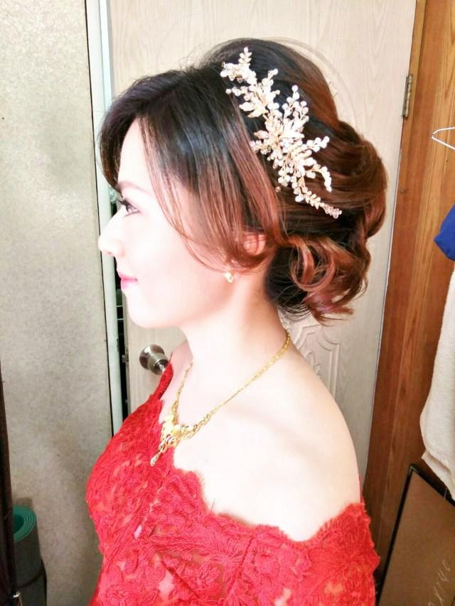 台北新娘秘書-新秘千越:新娘宴客造型