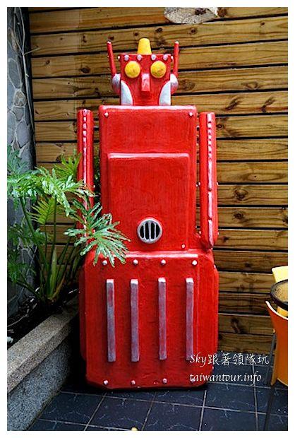 台中綠園道機器人主題餐廳鐵皮駛3711920