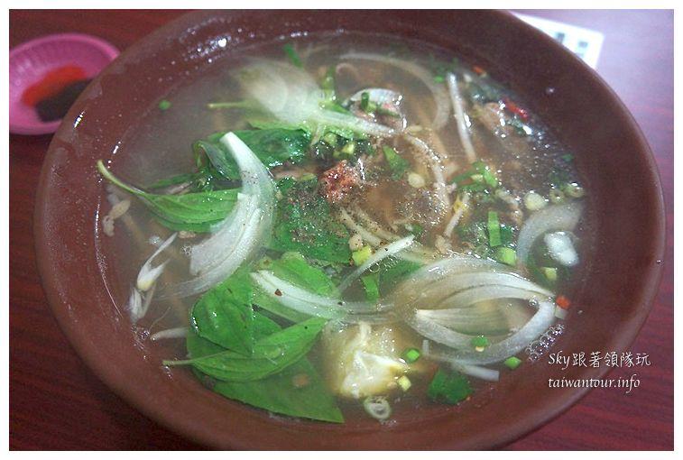 台北美食推薦南機場夜市賢記越式生牛肉河粉03766
