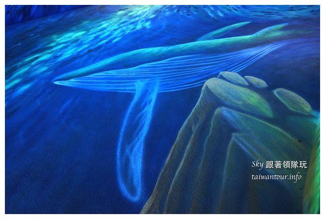 宜蘭蘇澳景點祝大魚3D彩繪360度海底隧道07136
