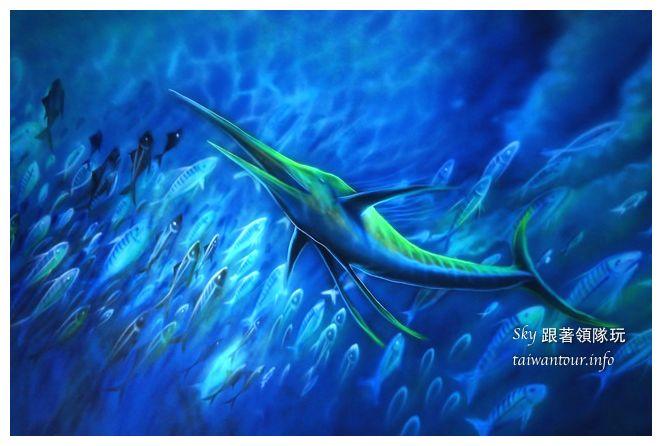 宜蘭蘇澳景點祝大魚3D彩繪360度海底隧道07137
