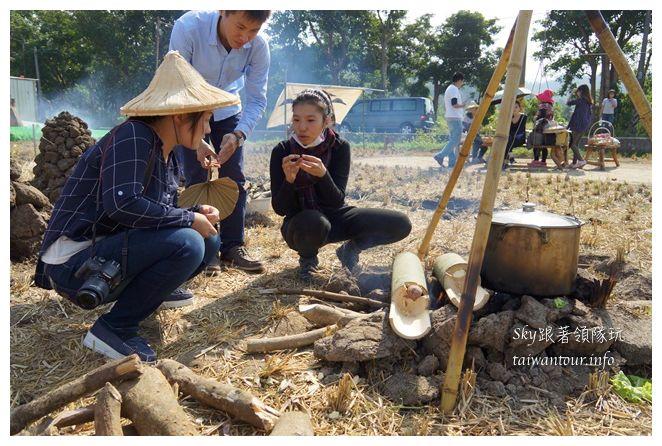 苗栗南庄景點老家米食堂老寮桂花園04417