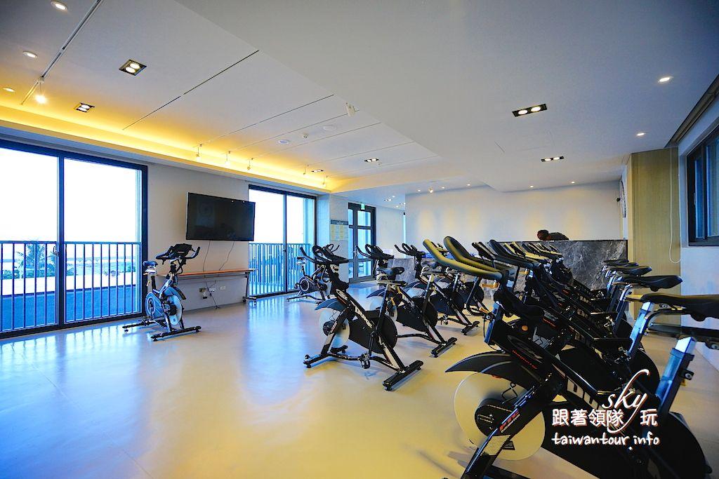 花蓮住宿推薦【璽賓行旅Kadda Hotel】無邊際泳池單車飯店