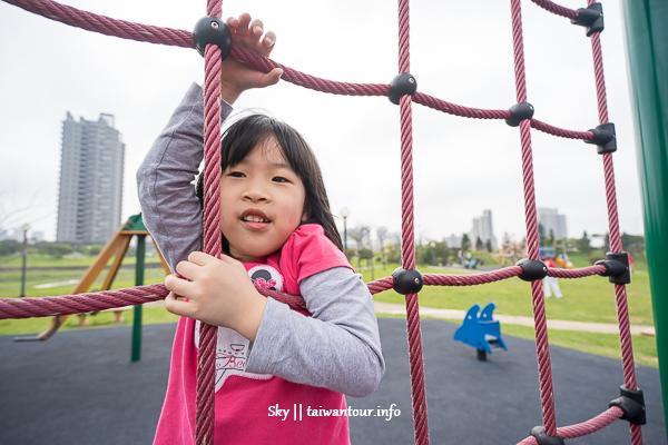 桃園親子景點【青埔公四公園】華泰名品城旁