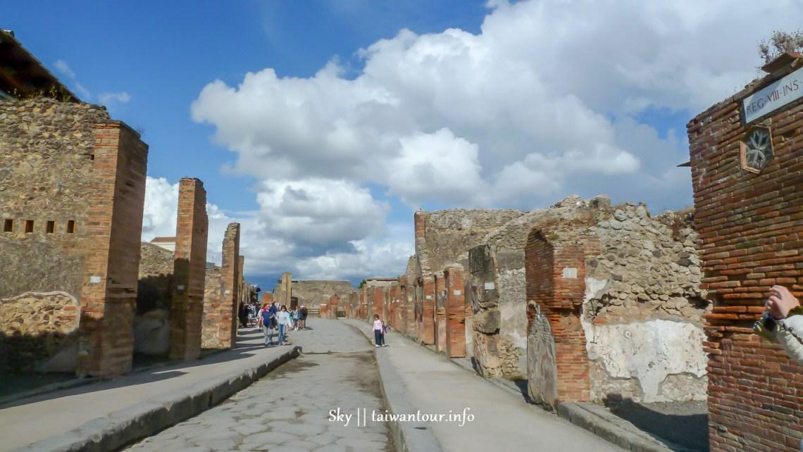 義大利必遊【龐貝古城pompeii】世界遺產.自由行地圖一日遊.訂票tour