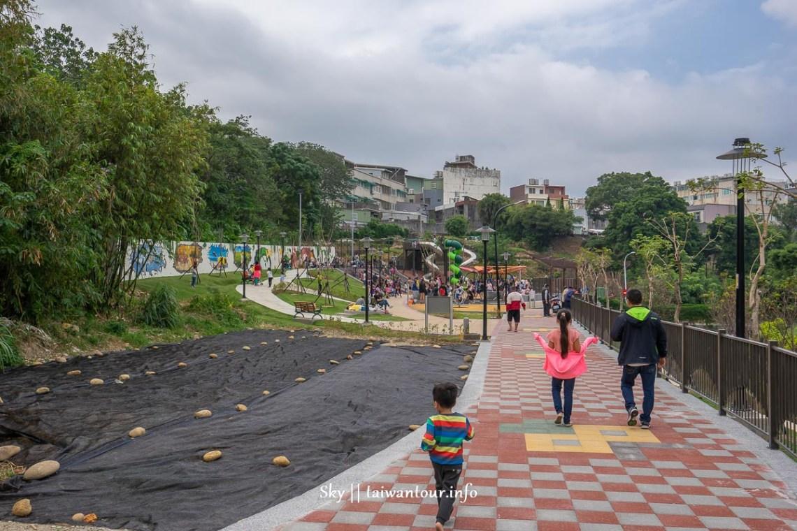 2020新北景點【鶯歌永吉公園】炮仗花季.特色親子公園怎麼去