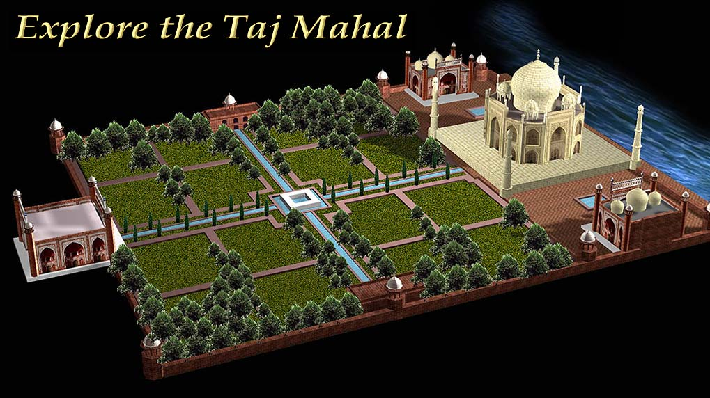 Image result for Tajmahal map