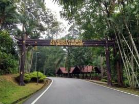 Taman haiwan di Taman Botani Negara Shah Alam