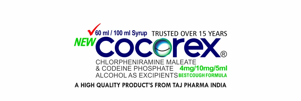 Chlorpheniramine and codeine is a combination medicine used to treat cough, runny nose, sneezing, itching, and watery eyes
