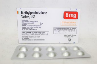 Methylprednisolone tablets usp 8mg manufacturers, Methylprednisolone tablets usp 8mg suppliers & exporters in India, Get contact for Methylprednisolone tablets usp 8mg manufacturing companies from India. Taj Pharma is leading Methylprednisolone tablets usp 8mg Manufacturers
