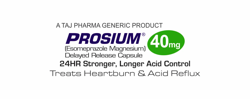 Esomeprazole decreases the amount of acid produced in the stomach.
