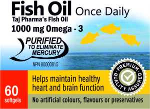 Fish Oil - Taj Natural products
