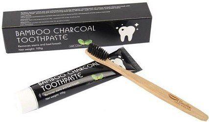 كريم تبييض الأسنان بالفحم BAMBOO ACTIVE CHARCOAL