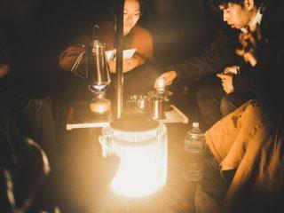 冬の成田ゆめ牧場キャンプ場