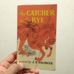the Catcher in  the RYE book