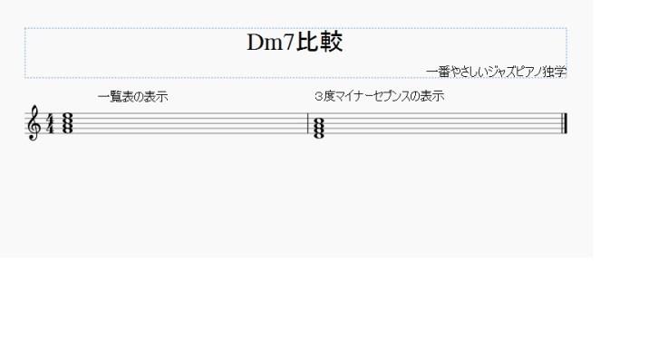 Dm7比較