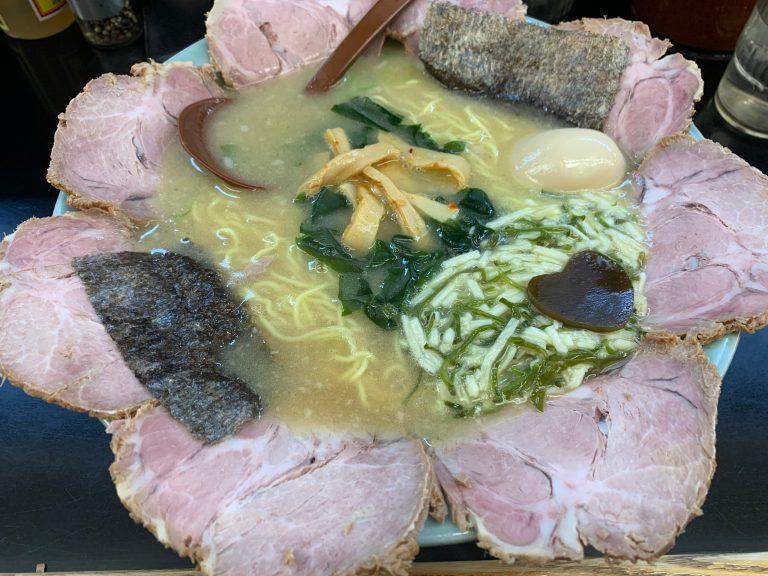 めかとろチャーシュー麺