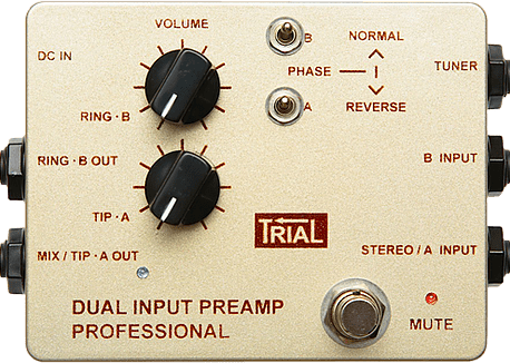 DUAL INPUT PREAMP PROFFESIONAL