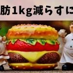 【体脂肪を1kg落とす】食事制限だけでやると危ないよ。