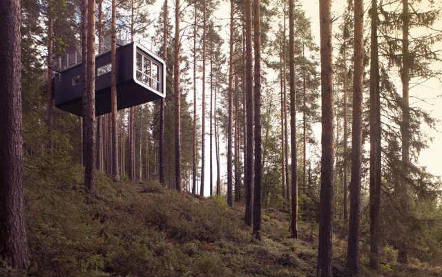 ツリーホテルtreehotel cabin (2)