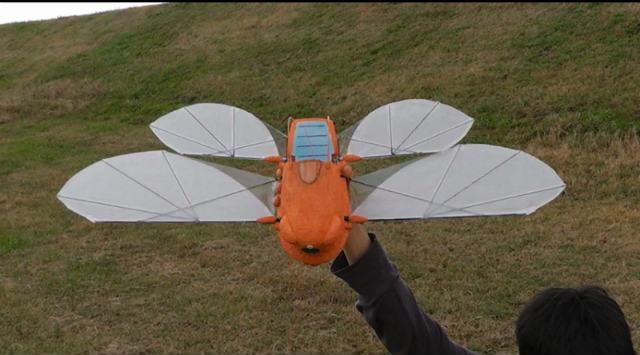天空の城ラピュタの飛行船フラップター