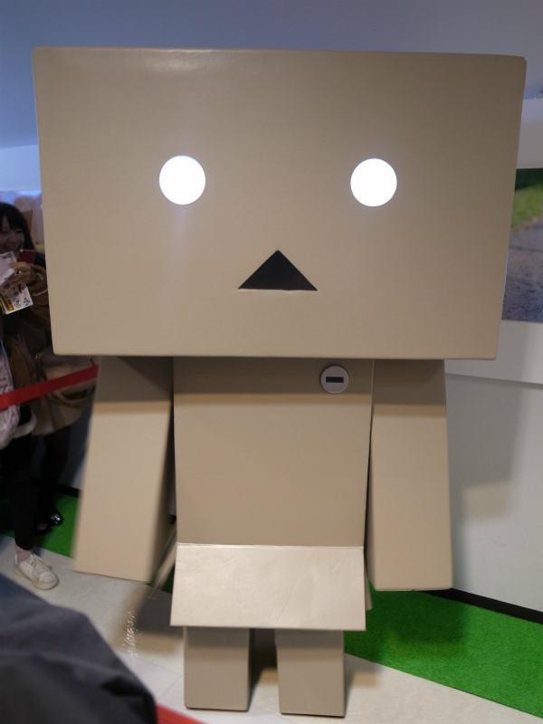 名古屋パルコで等身大着ぐるみダンボーを撮影[よつばとダンボー展2013] (12)
