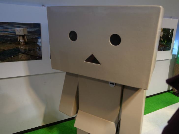 名古屋パルコで等身大着ぐるみダンボーを撮影[よつばとダンボー展2013] (6)