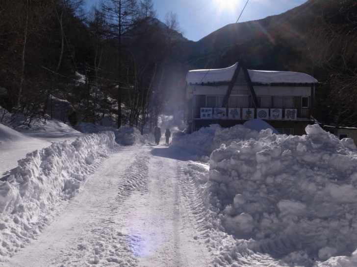 厳冬期2月の冬山に初挑戦!八ヶ岳の頂点、赤岳を雪山登山(赤岳鉱泉テント泊ルート、コースタイム有) (3)